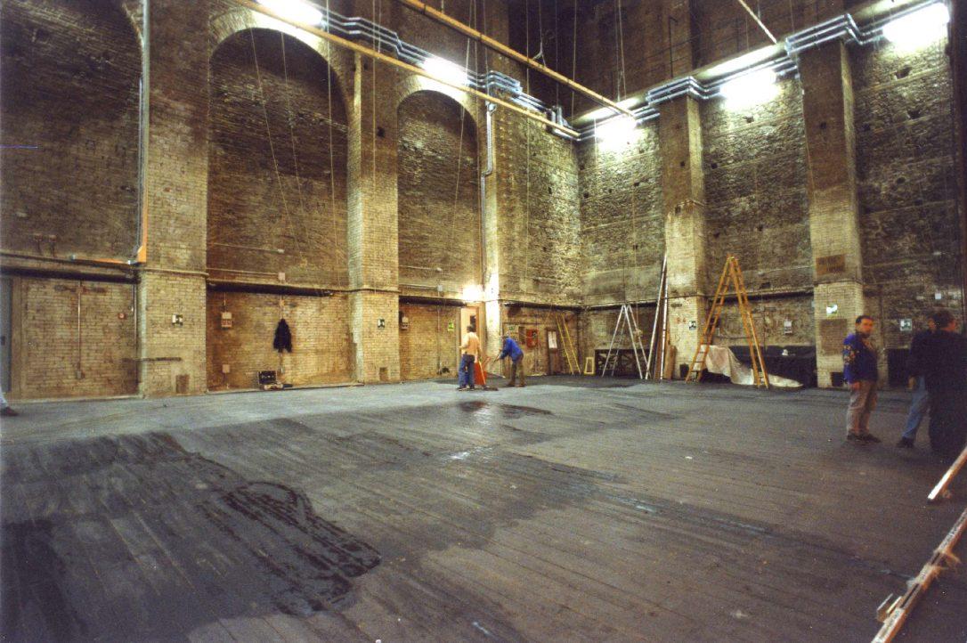 Palcoscenico del Teatro Politeama Pratese